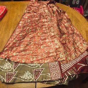 Beautiful Multi use Wrap Skirt